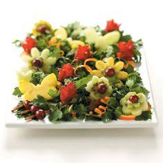 Another Cute Recipe: Fruit Flower Garden