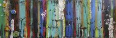 "Saatchi Art Artist: Dania Olivares; Acrylic 2013 Painting ""Colors"""