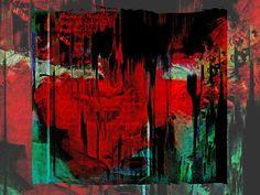 'The woman in red 1' von Gabi Hampe bei artflakes.com als Poster oder Kunstdruck $20.79