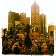 Rooftop bar, Melbourne City