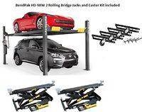 Bendpak Combo Hd 9xw Rbj4500 Casters Wide Tall 4 Post Lift 4 Post Lift Four Post Lift Aluminum Decking