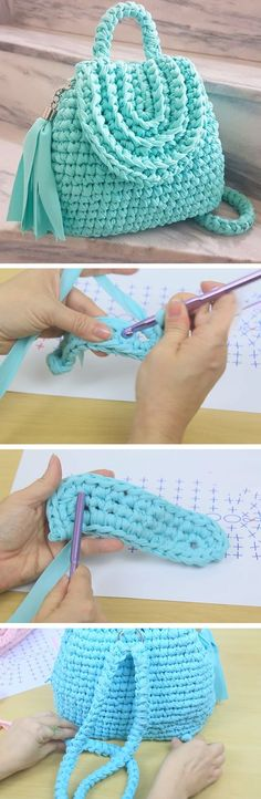 Crochet Bag – Easy Tutorial - Design Peak
