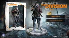 e7085dc58b946 Tom Clancy´s The Division PVC Statue SHD Agent 24 cm Gadżety - Sklep ULTiMA