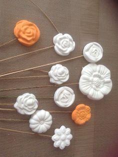 fiori di polvere di ceramica