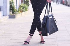Outfit, fashion, blogger, Fashiable, 2nd One jeans, Zara heels, Friis & Company bag