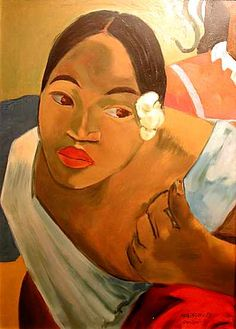 Gauguin >>> Must find out more about this one - it's so in-your-face, somehow.