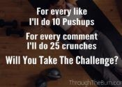 Get Off Your Butt Challenge