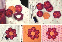 Pati baby quilt / Marcus Fabrics