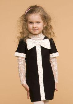 Детские платья вязаного трикотажа