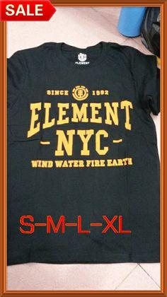 Free shipping black/white/orange 82 style Fashion Male T-shirts,Men's summer 100% cotton clothing tops Men brand element t shirt $18.69