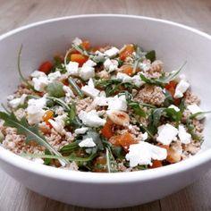 Spelt couscous salade #healthyfood #salad #couscous