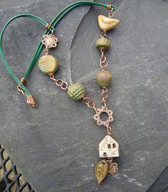 THEAjewellery creation using Suburban Girl Studio's  Ceramic Beads