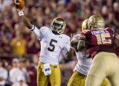 Coming up @ESPNRobertSmith joins me to talk the impact of Everett Golson transferring to Florida State. 888.Maddog6.