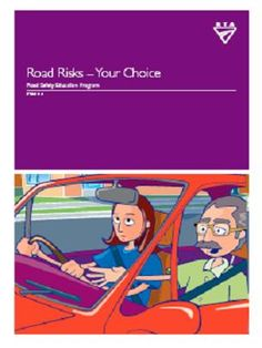 Road safety education teaching and learning activities for PDHPE 7-10