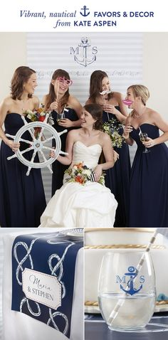 Kate Aspen Nautical Wedding Collection + A Giveaway!