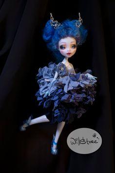 Monster High Lagoona Blue custom OOAK repaint doll by WillStoreMe