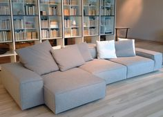 Design Lovers: Neowall sofa designed by Piero Lissoni for Living Divani now on display at GRAYE Winter 2015