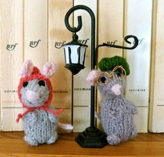 Germaine & Albert, Les Petits peluches tricotées