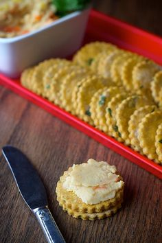 Love these healthy cilantro crackers...