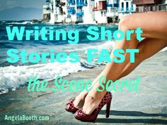5,000 Words: Four Scenes. I'm currently writing a series of short stories, each of which is under 5,000 words in draft form: http://www.fabfreelancewriting.com/blog/2014/05/08/writing-short-stories-fast-scene-secret/#