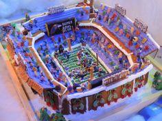 GINGERBREAD HOUSE~Gingerbread stadium