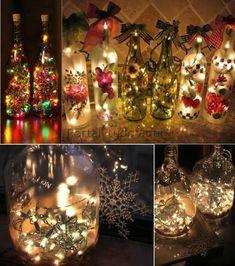 arranjo Beaded Christmas Ornaments, Christmas Bulbs, Merry Christmas, Xmas, Diy Christmas, Birthday Decorations, Christmas Decorations, Holiday Decor, Outdoor Christmas