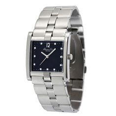 New Kenneth Cole Womens Bracelet Watch Black Dial Stainless Steel KC4675 30mm  $49.95