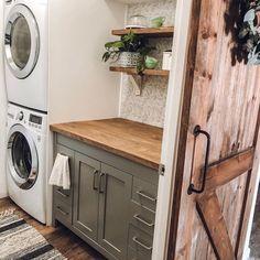 Laundry Room Diy, Room Closet, Butler Pantry, Washer Dryer Laundry Room, Room Storage Diy, Laundry Dryer, Laundry, Pantry Room, Pantry Laundry Room
