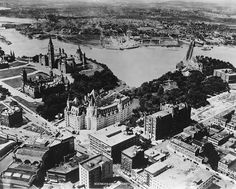 Capital Of Canada, O Canada, Canadian Forest, Canadian History, Largest Countries, Photo Archive, Ottawa, Historical Photos, Old Photos