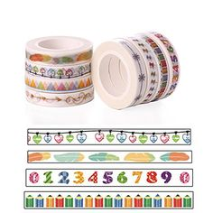 1000 Rolls Custom Pictures for Washi Paper Tape Decorative Masking Tape For Arts Crafts Scrapbook Supplies Planners Journals Sticker >>> Click image to read more details. #ScrapbookingStamping