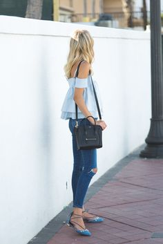 Little Blonde Book by Taylor Morgan | A Life and Style Blog : Triple Blue