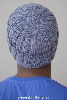 Boyfriend Beanie – Free Knitted Hat Pattern – Knitting patterns, knitting designs, knitting for beginners. Beanie Knitting Patterns Free, Beanie Pattern Free, Knit Patterns, Free Knitting, Doll Patterns, Free Pattern, Crochet Gloves, Knit Or Crochet, Knitted Hats