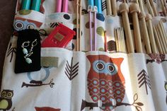 Links for patterns: knitting needle case, stitch markers, you very own knitting needles, how to make your own yarn and MORE!
