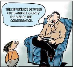 Truer words were never spoken. #Cults #Religions