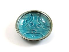 RAKU RAVEN  BOWL Handmade Ceramic Pottery by DeBaunFineCeramics on Etsy