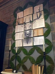 12 Unbelievable Decoration Ideas With Old Books - HomelySmart Magnolia Market, Magnolia Homes, Old Book Crafts, Book Cafe, Butterfly Decorations, Diy Clock, Old Books, Christmas Inspiration, Cool Diy