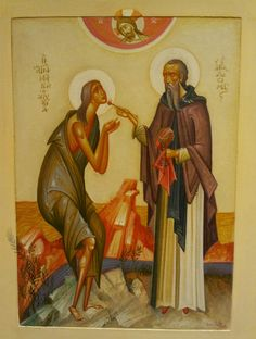 St Mary of Egypt by George Kordes