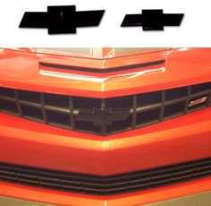 2010-2014 Chevrolet Camaro ABS Brake Cover SS Logo Orange