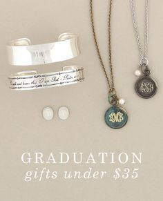 Graduation gifts under $35 | Initial Outfitters