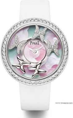 "Superb Nature-Inspired ""Four Seasons"" Piaget Watches 1"