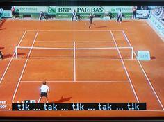 Un meci de tenis cu subtitrare