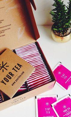 Tiny Tea packaging