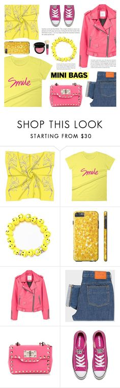 """""""So Cute: Mini Bags (5)"""" by samra-bv ❤ liked on Polyvore featuring MANGO, PS Paul Smith, Valentino, Converse and Bobbi Brown Cosmetics"""