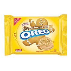 Oreos Gingerbread Flavor Crème, mmm never heard of this before, I'll be lookin for these this holiday season coming up.