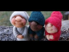 Needle Felting PIXIES - FREE 1 Hour Course - How to Needle Felt Video Tutorial for Beginners by Felt Alive