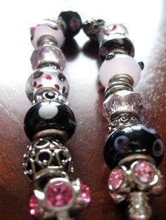 DIY Glass Bead Bracelet