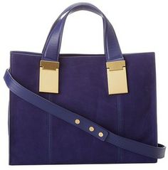 ZAC Zac Posen - Danes Small Satchel (Azure) - Bags and Luggage on shopstyle.com