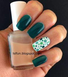 nice Nail Art For Beginners : 3 simple nail designs using dotting tool #lslfunblog #e...