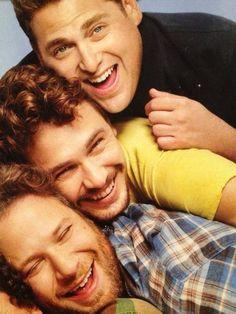 Seth Rogen, James Franco and Jonah Hill