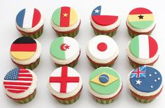 Flag cupcake decorations - goodtoknow